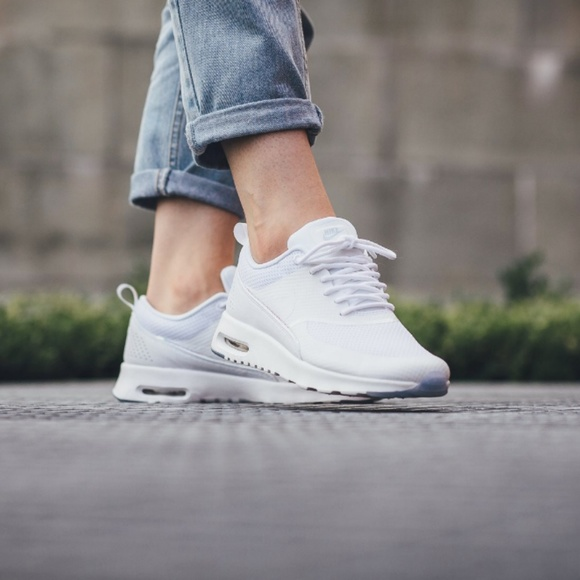 reliable quality beauty so cheap NWOB Nike air max thea white iridescent Size 12
